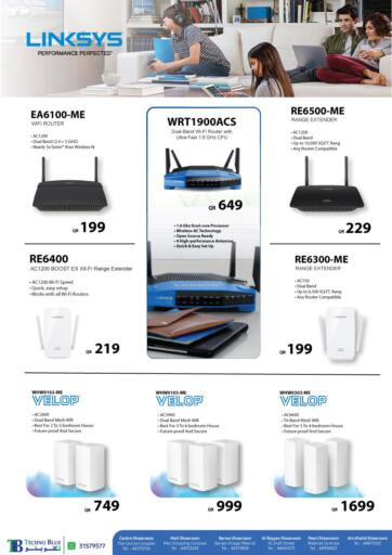 Qatar - Al-Shahaniya Techno Blue offers in D4D Online. Connect your home with Linksys. Now its time to shop from Techno Blue. Get  Connect your home with Linksys offers and get your products at great discounts. Offers valid Till 25th June.   Hurry Up!!!!!. Till 25th June