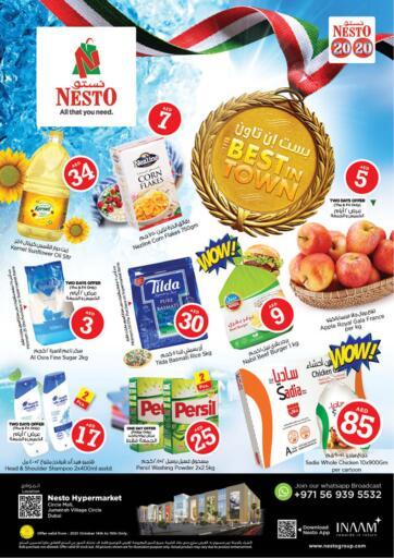 UAE - Sharjah / Ajman Nesto Hypermarket offers in D4D Online. Jumeira Village Circle, Dubai. . Till 16th October