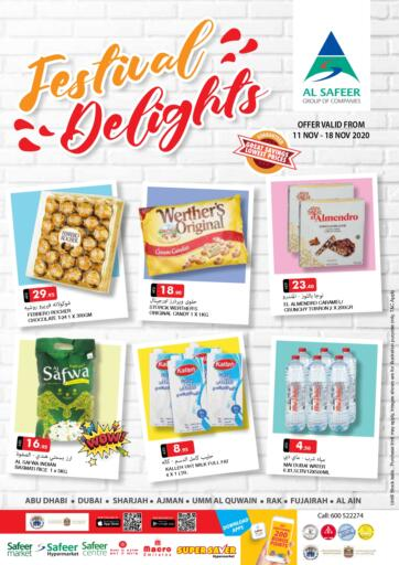 UAE - Ras al Khaimah Safeer Hyper Markets offers in D4D Online. Festival Delights. . Till 18th November