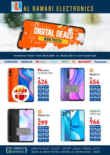 Qatar - Doha Al Rawabi Electronics offers in D4D Online. Digital Deals. . Till 8th December