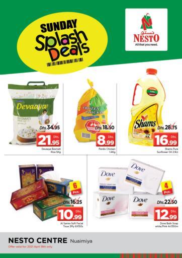 UAE - Sharjah / Ajman Nesto Hypermarket offers in D4D Online. Nuaimiya - Ajman. . Only On 18th April