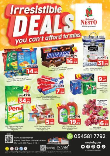 UAE - Dubai Nesto Hypermarket offers in D4D Online. Umm Al Quwain. . Till 4th August