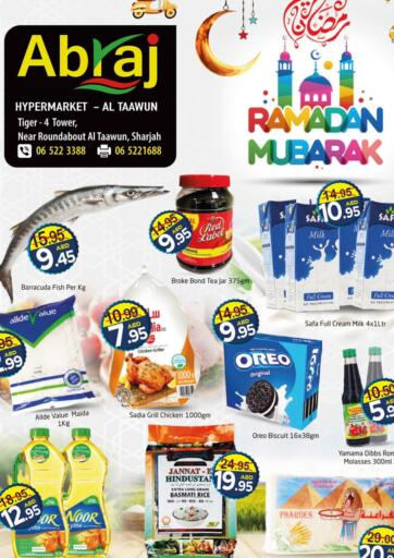 UAE - Sharjah / Ajman Abraj Hypermarket offers in D4D Online. Ramadan Offers. . Till 17th April