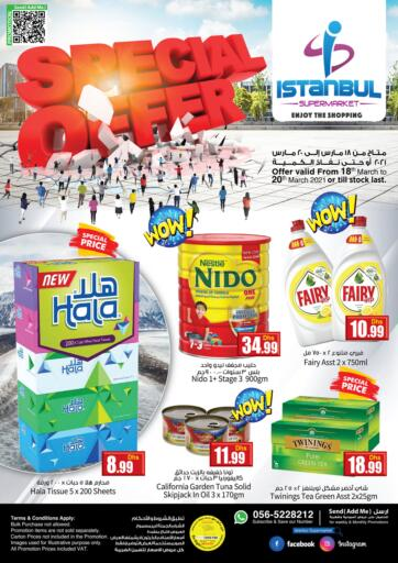 UAE - Dubai Istanbul Supermarket offers in D4D Online. Special Offer. . Till 20th March