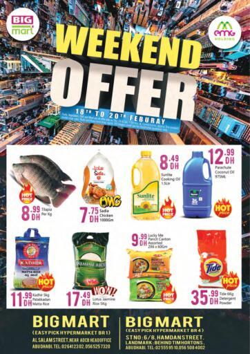 UAE - Abu Dhabi BIGmart offers in D4D Online. Weekend Offer..