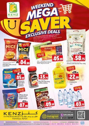 UAE - Sharjah / Ajman Kenz Hypermarket offers in D4D Online. Weekend Mega Saver. Weekend Mega Saver Offers Now Available At Kenz Hypermarket. Rush Now And Get Everything At Best Price. Offer Valid Till 09th October 2021.  Enjoy Shopping!!!. Till 9th October