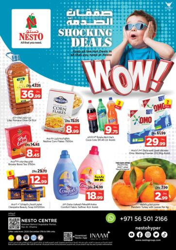 UAE - Ras al Khaimah Nesto Hypermarket offers in D4D Online. Ras Al Khaima. . Till 19th December