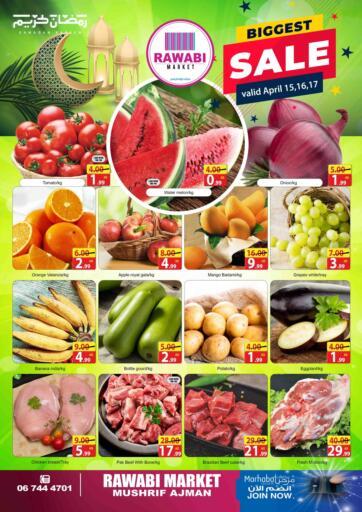 UAE - Sharjah / Ajman Rawabi Market Ajman offers in D4D Online. Mushrif, Ajman. . Till 17th April