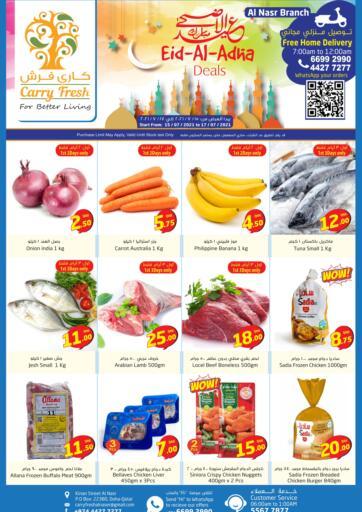 Qatar - Al-Shahaniya Carry Fresh Hypermarket offers in D4D Online. Eid Al-Adha Deals. . Till 17th July