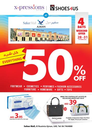 UAE - Ras al Khaimah Safeer Hyper Markets offers in D4D Online. Weekend Offer.