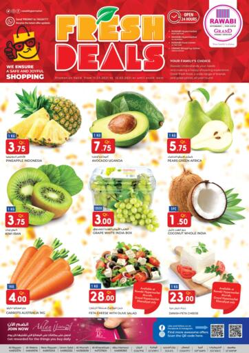 Qatar - Doha Rawabi Hypermarkets offers in D4D Online. Fresh Deals. Fresh Deals  Offers  Are Available At Rawabi Hypermarkets.Offers Are Valid Till 12th March.   Enjoy! . Till 12th March