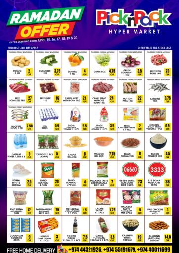Qatar - Al Khor Pick n Pack offers in D4D Online. Ramadan Offer. . Till 20th April