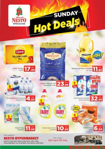 UAE - Dubai Nesto Hypermarket offers in D4D Online. Jafza, Dubai. . Only On 11th April