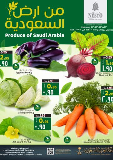 KSA, Saudi Arabia, Saudi - Jubail Nesto offers in D4D Online. Produce Of Saudi Arabia. Now you can get your products from your favorite brands during  'Produce Of Saudi Arabia' at Nesto Stores. This offer is only valid Till 27th February 2021.. Till 27th February