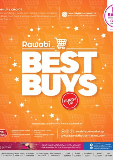 Qatar - Al Rayyan Rawabi Hypermarkets offers in D4D Online. Best Buys. . Till 20th October