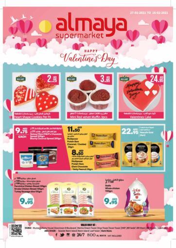 UAE - Abu Dhabi Al Maya Supermarkets & Hypermarkets offers in D4D Online. Happy Valentines Day. . Till 16th February