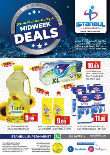 UAE - Dubai Istanbul Supermarket offers in D4D Online. Midweek Deals. . Till 26th January