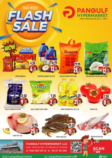 UAE - Sharjah / Ajman Pangulf hypermarket L.L.C offers in D4D Online. Flash Sale. . Till 11th September