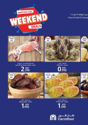 Kuwait Carrefour offers in D4D Online. Weekend Deals. . Till 23rd January