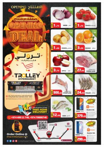 Qatar - Umm Salal Trolley Hypermarket offers in D4D Online. Opening Deal. . Till 14th March