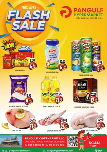 UAE - Sharjah / Ajman Pangulf hypermarket L.L.C offers in D4D Online. Flash Sale. . Till 18th September