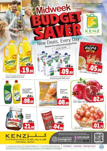 UAE - Sharjah / Ajman Kenz Hypermarket offers in D4D Online. Midweek Budget Saver. Midweek Budget Saver Offers Now Available At Kenz Hypermarket. Rush Now And Get Everything At Best Price. Offer Valid Till 06th October 2021.  Enjoy Shopping!!!. Till 6th October