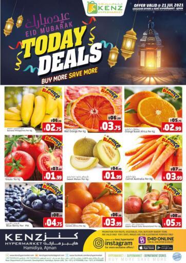 UAE - Sharjah / Ajman Kenz Hypermarket offers in D4D Online. Today Deals. . Only On 21st July