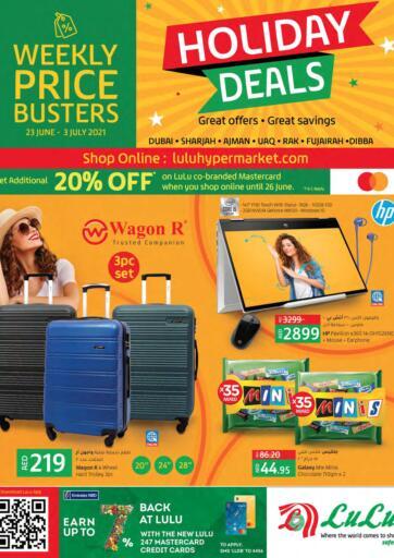 UAE - Dubai Lulu Hypermarket offers in D4D Online. Holiday Deals. . Till 3rd July