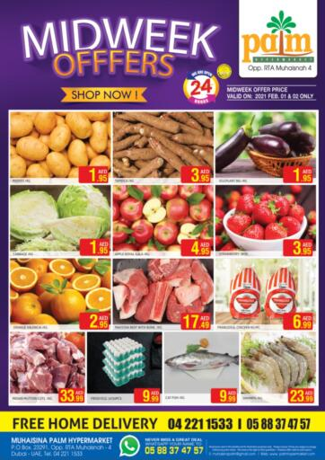 UAE - Dubai Palm Hypermarket Muhaisina LLC offers in D4D Online. Midweek Offers.
