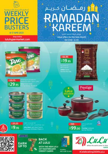 UAE - Abu Dhabi Lulu Hypermarket offers in D4D Online. Ramadan Offers. Ramadan Offers At Lulu Hypermarket. Offers Available in Electronic Appliances,  Gadgets & Many More At Their Store. Head to the Store Before Till 17th April and Enjoy Shopping!!. Till 17th April