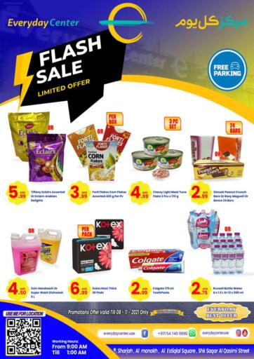 UAE - Sharjah / Ajman Everyday Center offers in D4D Online. Flash Sale. . Till 8th November