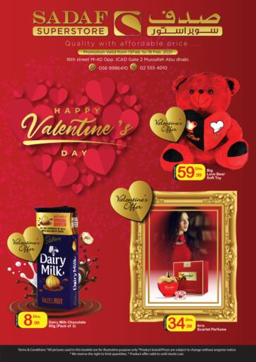 UAE - Abu Dhabi Sadaf Superstore offers in D4D Online. Valentine Offers. . Till 19th February