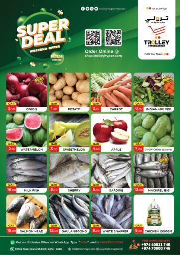 Qatar - Al Rayyan Trolley Hypermarket offers in D4D Online. Super Deal. . Till 16th October