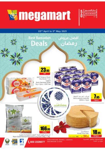 UAE - Al Ain Megamart Supermarket  offers in D4D Online. Best Ramadan Deals. . Till 5th May