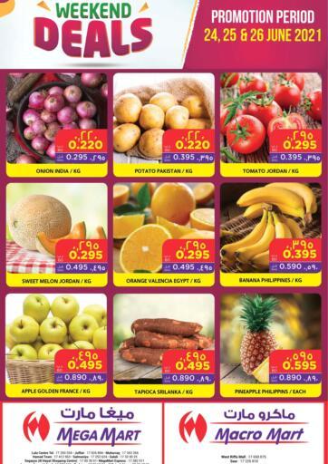 Bahrain MegaMart & Macro Mart  offers in D4D Online. Weekend Deals. . Till 26th June