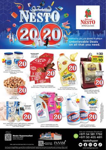 UAE - Dubai Nesto Hypermarket offers in D4D Online. Umm Al Quwain. . Till 2nd October