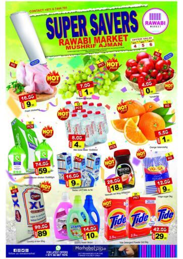 UAE - Sharjah / Ajman Rawabi Market Ajman offers in D4D Online. Mushrif, Ajman. . Till 6th March
