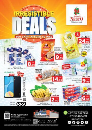 UAE - Dubai Nesto Hypermarket offers in D4D Online. Umm Al Quwain. . Till 25th September
