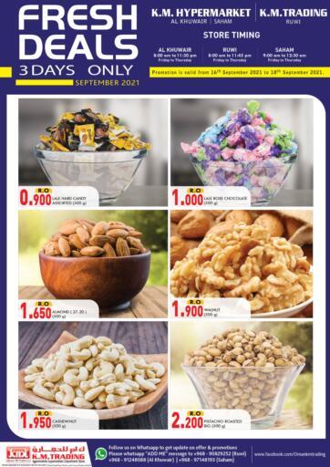Oman - Muscat KM Trading  offers in D4D Online. Fresh Deals 3 Days Only. . Till 18th September