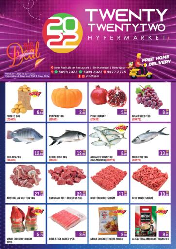 Qatar - Doha Twenty TwentyTwo offers in D4D Online. Big Weekend Deal.  Big Weekend Deal Offers Are Available At Twenty TwentyTwo. Offers Are Valid Till 23rd January. Hurry up!. Till 23rd January