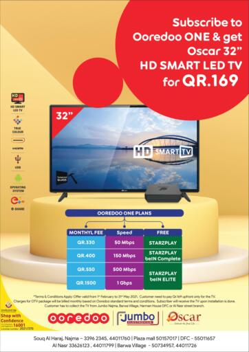 Qatar - Al Rayyan Jumbo Electronics offers in D4D Online. Special Offer. Special Offers Are Available At Jumbo Electronics. Offers Are Valid Till  31st May. Hurry Up! Enjoy Shopping!!!!. Till 31st May