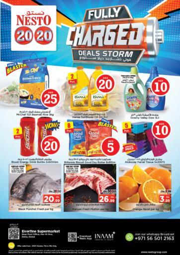 UAE - Sharjah / Ajman Nesto Hypermarket offers in D4D Online. Hor Al Anz - Dubai. . Till 9th October