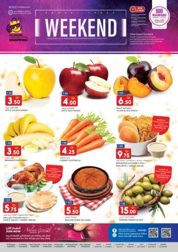 Qatar - Al-Shahaniya Rawabi Hypermarkets offers in D4D Online. Weekend Offer. . Till 4th June