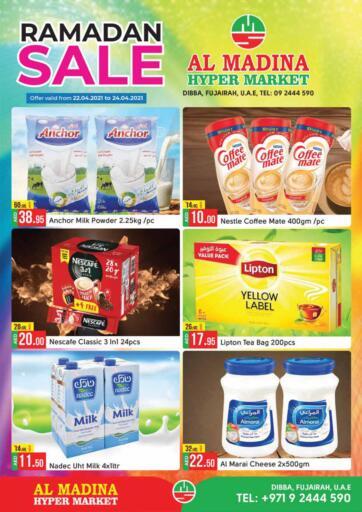 UAE - Fujairah Al Madina Supermarket LLC offers in D4D Online. Ramadan Sale. . Till 24th April
