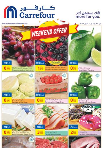 Oman - Salalah Carrefour offers in D4D Online. Weekend Offer. . Till 6th February