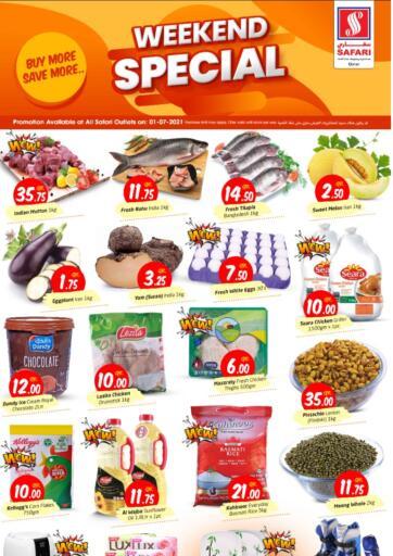 Qatar - Al-Shahaniya Safari Hypermarket offers in D4D Online. Weekend Special. . Only On 01st July