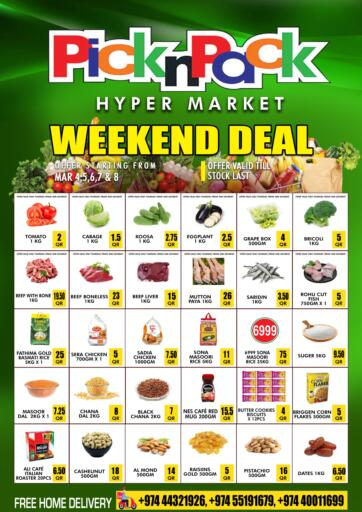 Qatar - Al Khor Pick n Pack offers in D4D Online. Weekend Deal. . Until Stock Last