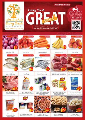 Qatar - Al-Shahaniya Carry Fresh Hypermarket offers in D4D Online. Great Deals @ Muaither. . Till 2nd June