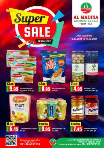UAE - Fujairah Al Madina Supermarket LLC offers in D4D Online. Hamad Bin Abdullah, Fujairah. . Till 18th September