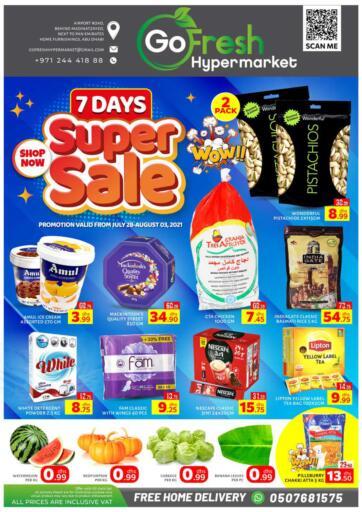 UAE - Abu Dhabi GO FRESH HYPERMARKET LLC offers in D4D Online. 7 Days Super Sale. . Till 03rd August